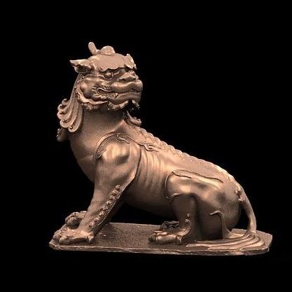 3D模型-谛听 神兽 九华 镇山之宝