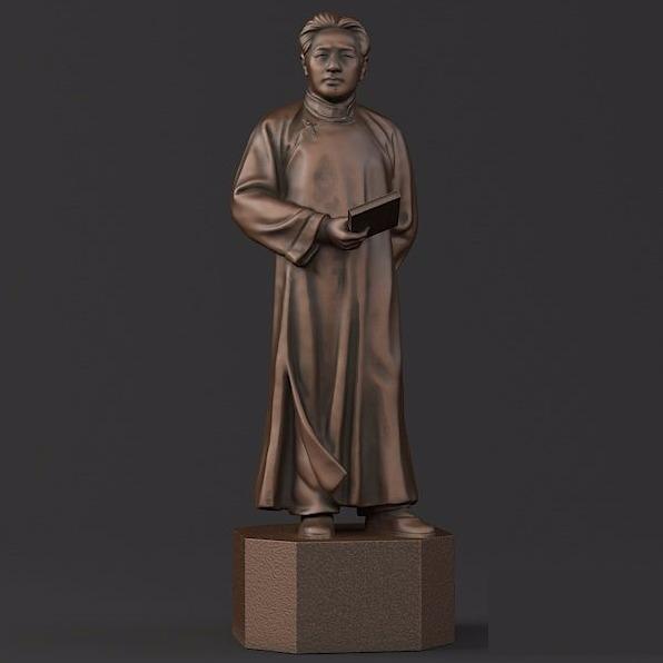 文艺毛泽东-3D打印