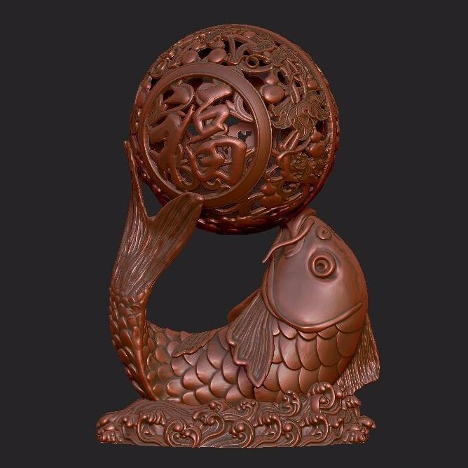 福鱼香薰-3D打印
