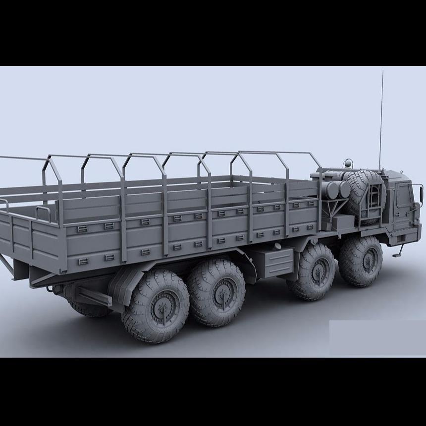 3D模型-装甲车,大卡车BAZ-6306