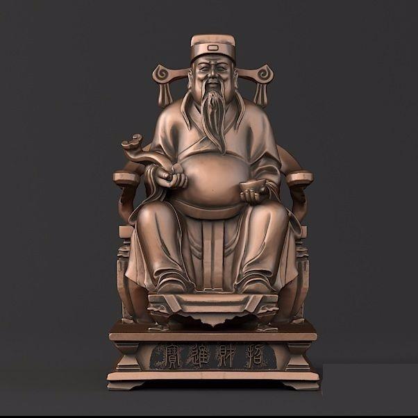 坐财神01-3D打印