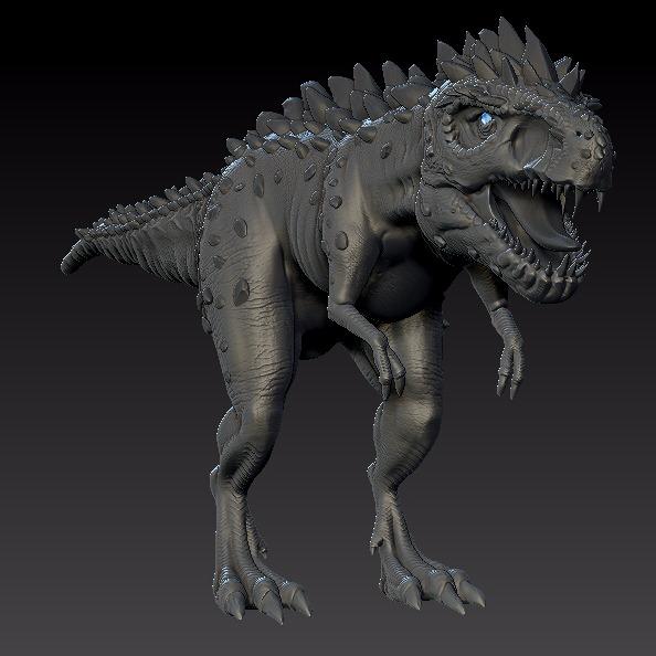 3D模型-一只恐龙