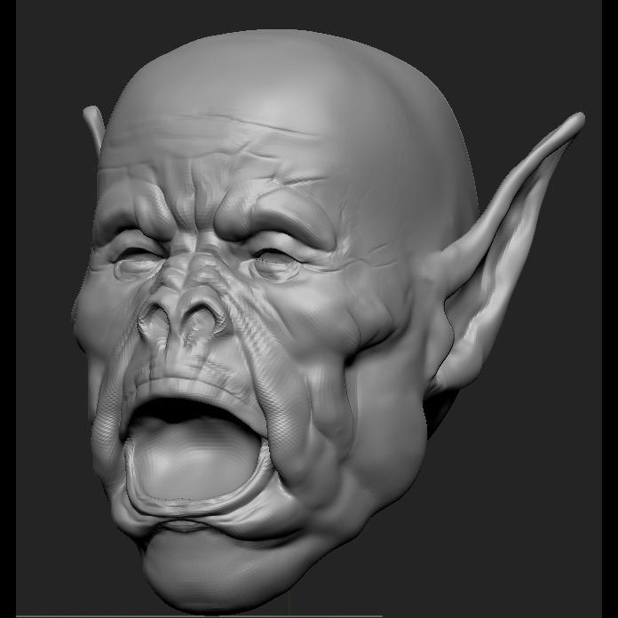 3D模型-怪物模型