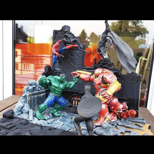 漫威英雄联盟5人物合集-3D打印