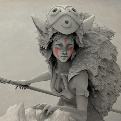 冈萨雷斯公主手办-3D打印