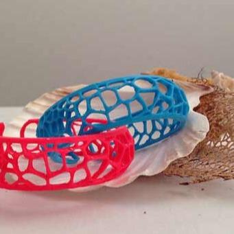 3D模型-3D打印镂空手镯