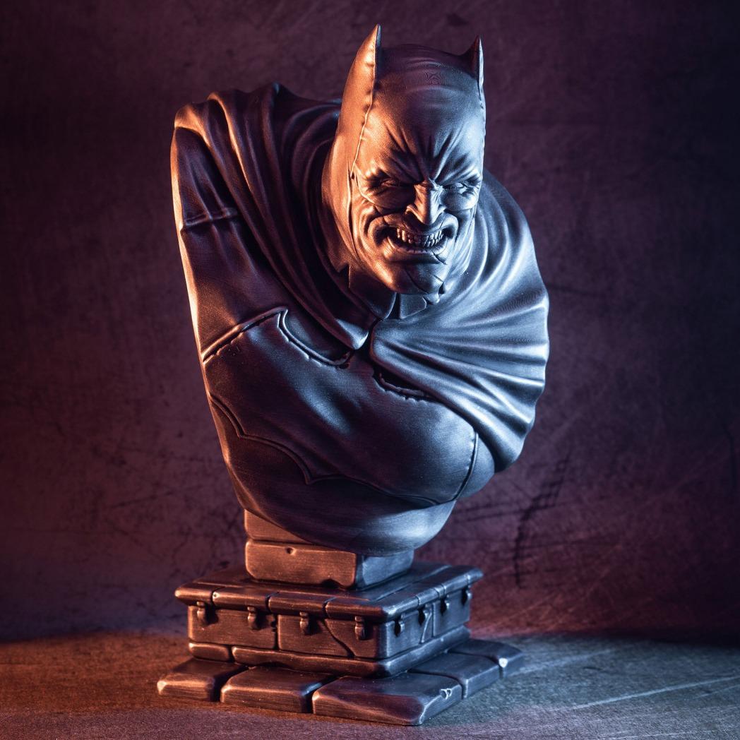 黑暗蝙蝠侠骑士胸像3D打印 stl-3D打印