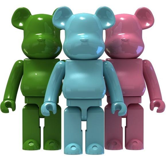3D模型-积木熊 Bear Brick