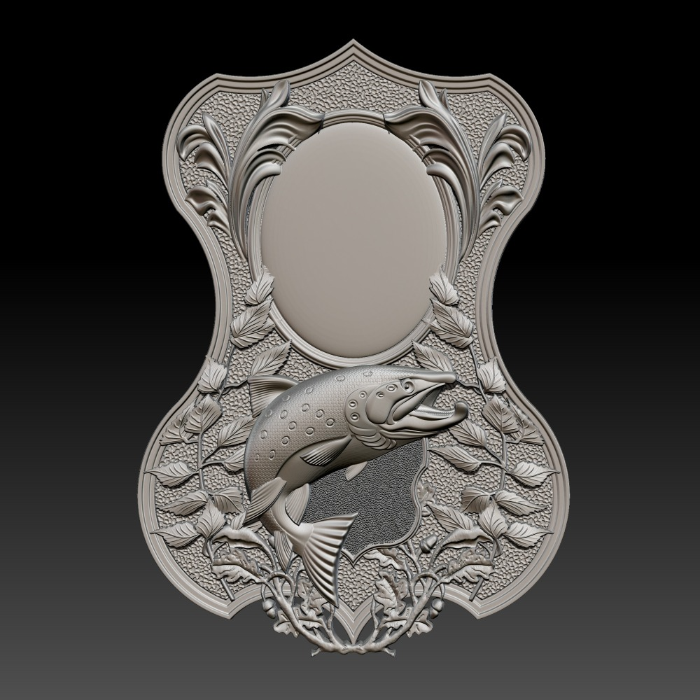 3D模型-鱼镜