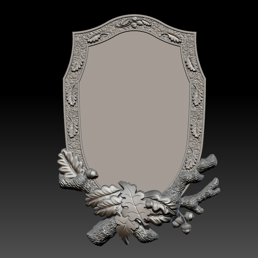 3D模型-奖章