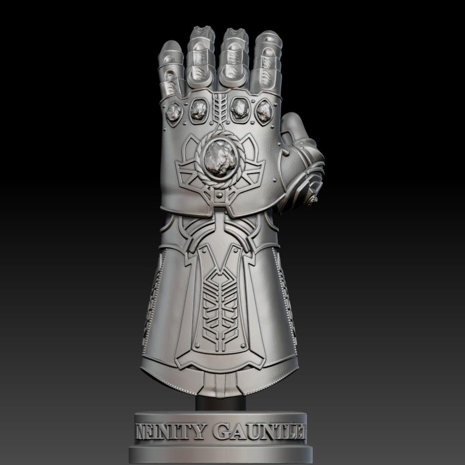 3D模型-漫威  无限手套