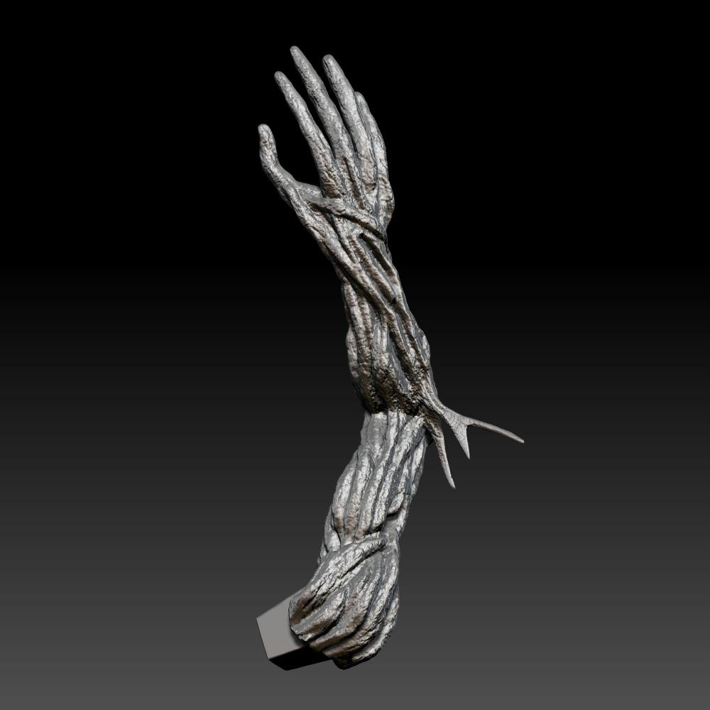 3D模型-铁人标记46