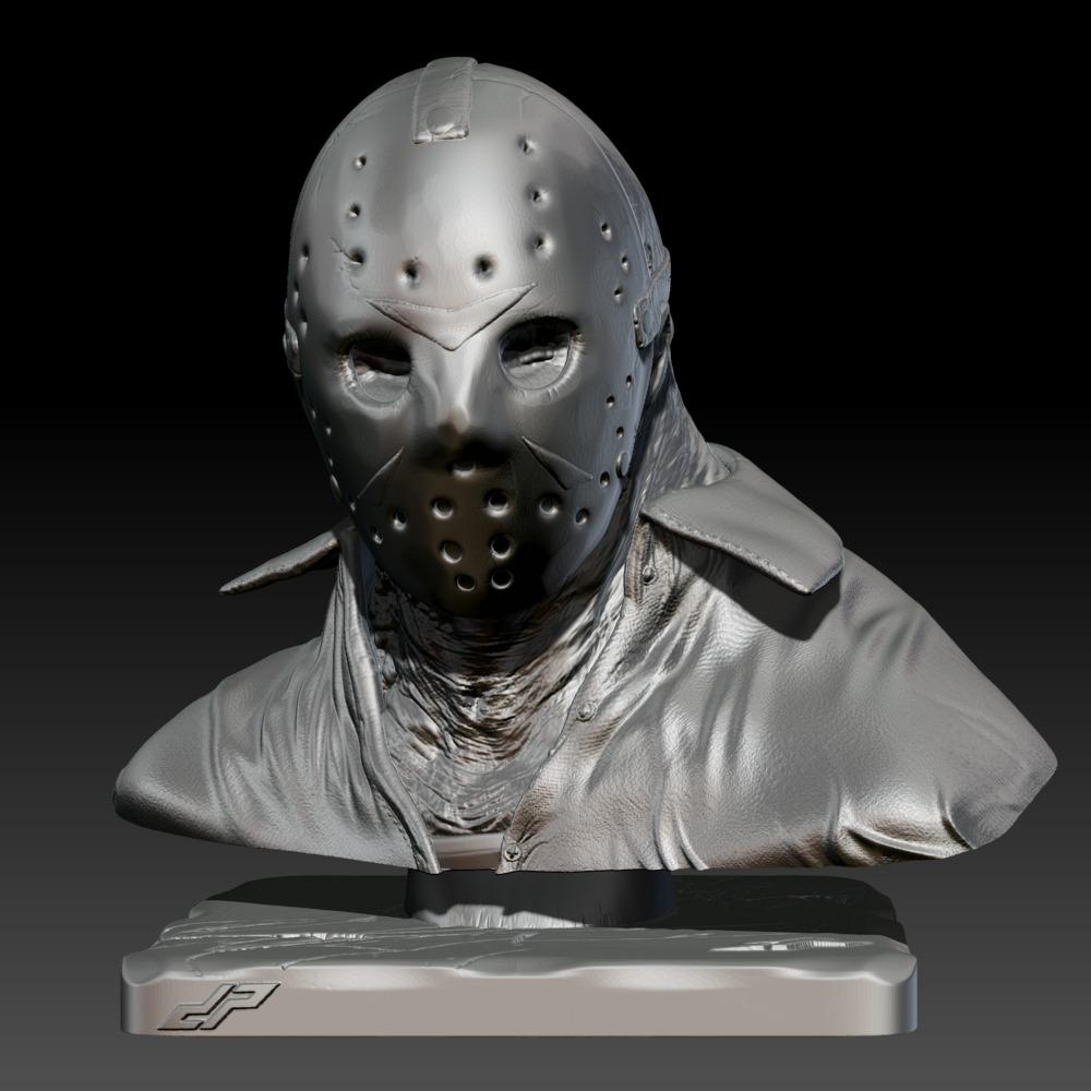 3D模型-杰森半身像