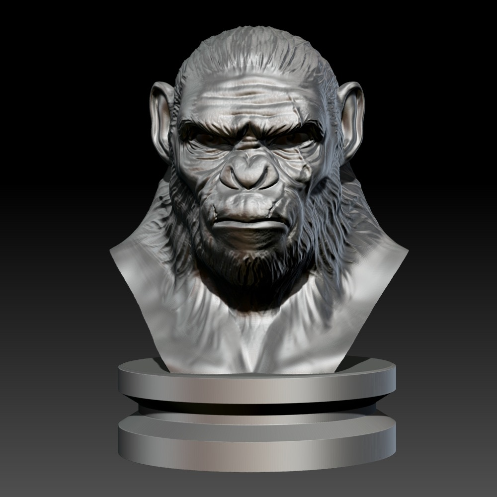 3D模型-科巴猴Koba Monkey