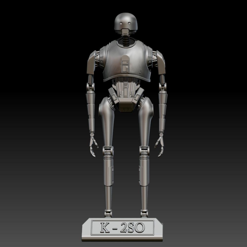 3D模型-星球大战 K-2SO