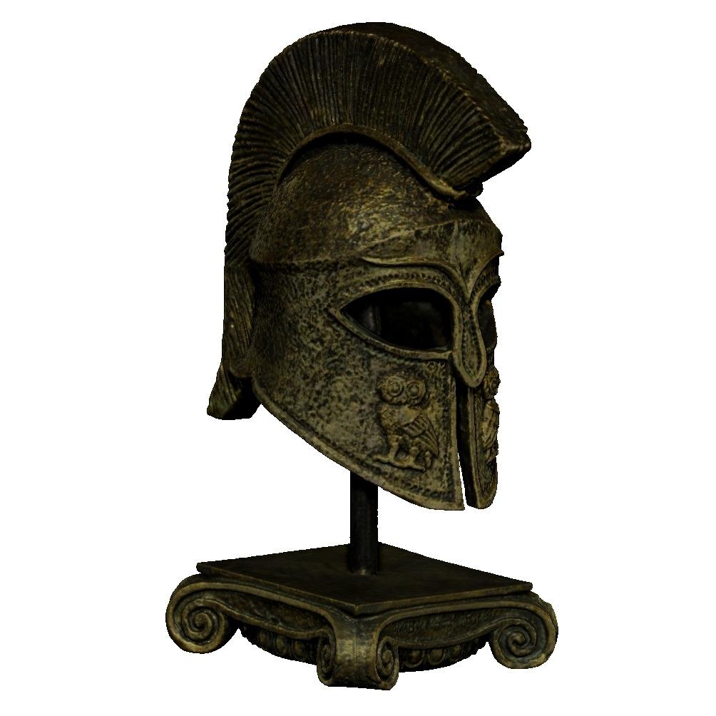 头盔斯巴达(Helmet Sparta)-3D打印