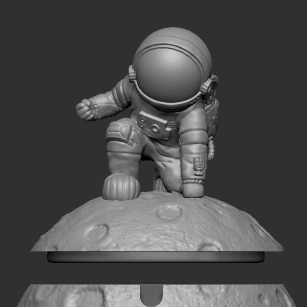 3D模型-钢铁侠宇航员