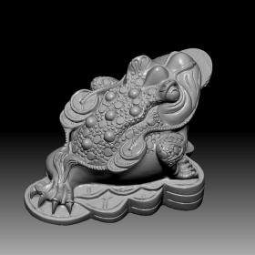 3D模型-精品蟾蜍